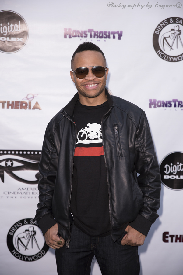 Eugene Byrd at Etheria Film Night 2015