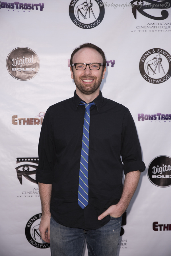 Morgan Peter Brown at Etheria Film Night 2015