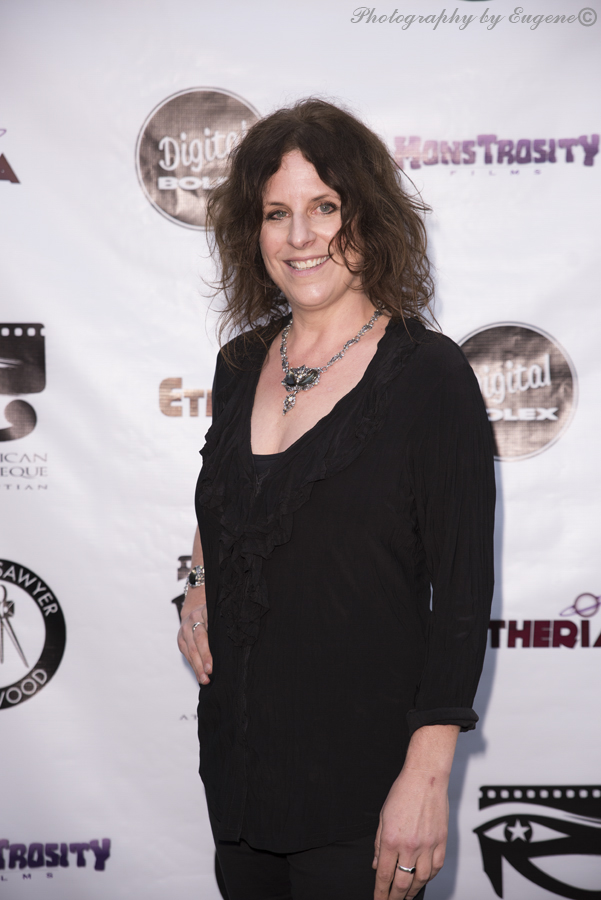 Ursula Dabrowsky at Etheria Film Night 2015