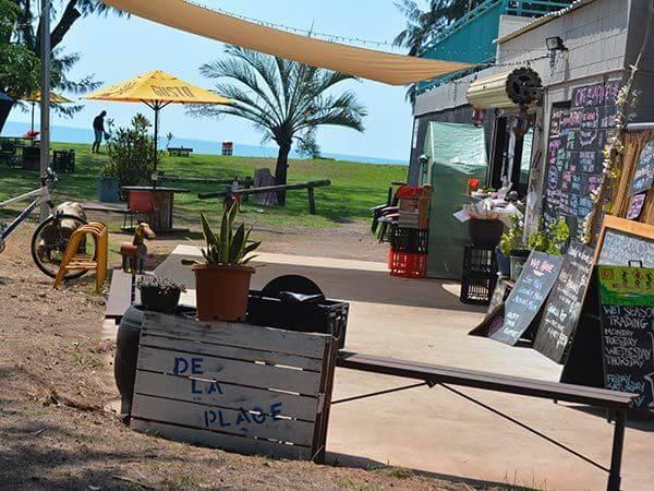 cafe de la plage darwin city tour