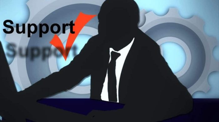 GlobeHost Review Customer Support Man