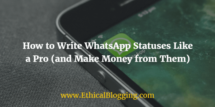 WhatsApp Statuses Like a Pro