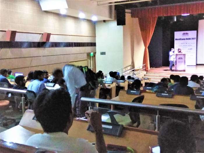 Inside the Hall [WordCamp Delhi 2017 (3)]