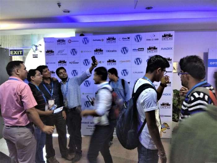 People are Enjoying Themselves [WordCamp Delhi 2017]