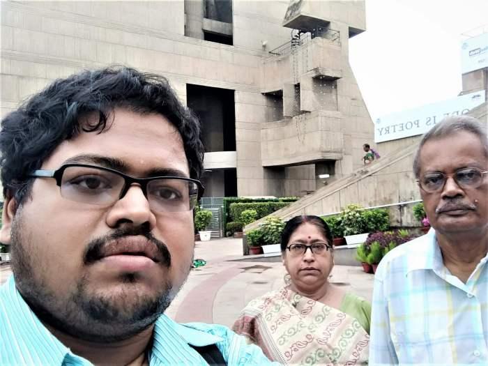 Subhabrata Kasyapi with Parents