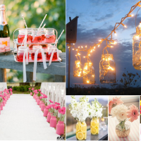 Use Recycled Household Materials to Style Your Wedding