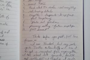 Oversharing in Writing Workshop