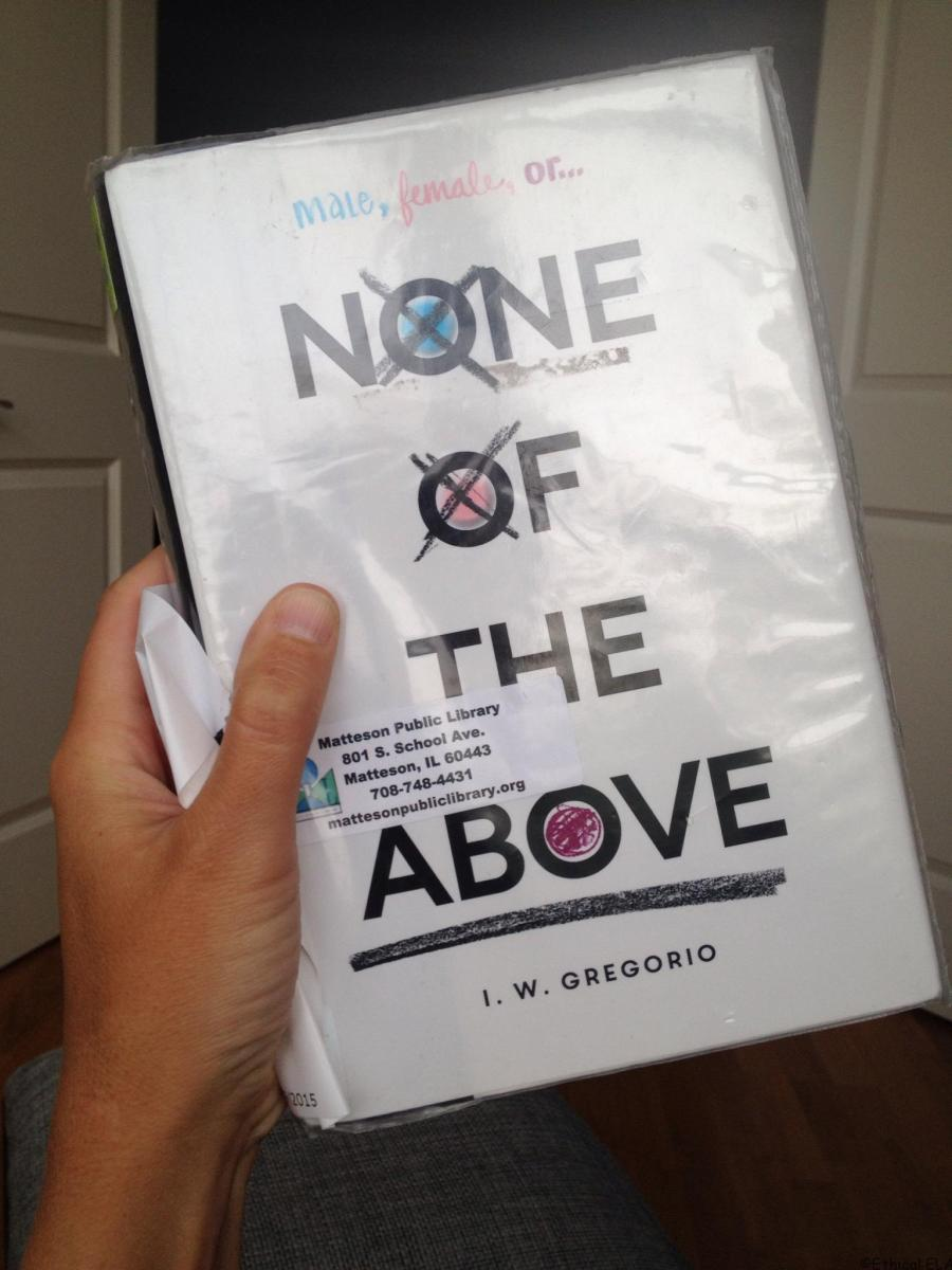 Book Review: None of the Above by I.W. Gregorio