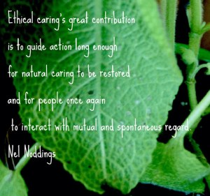 Noddings_natural caring
