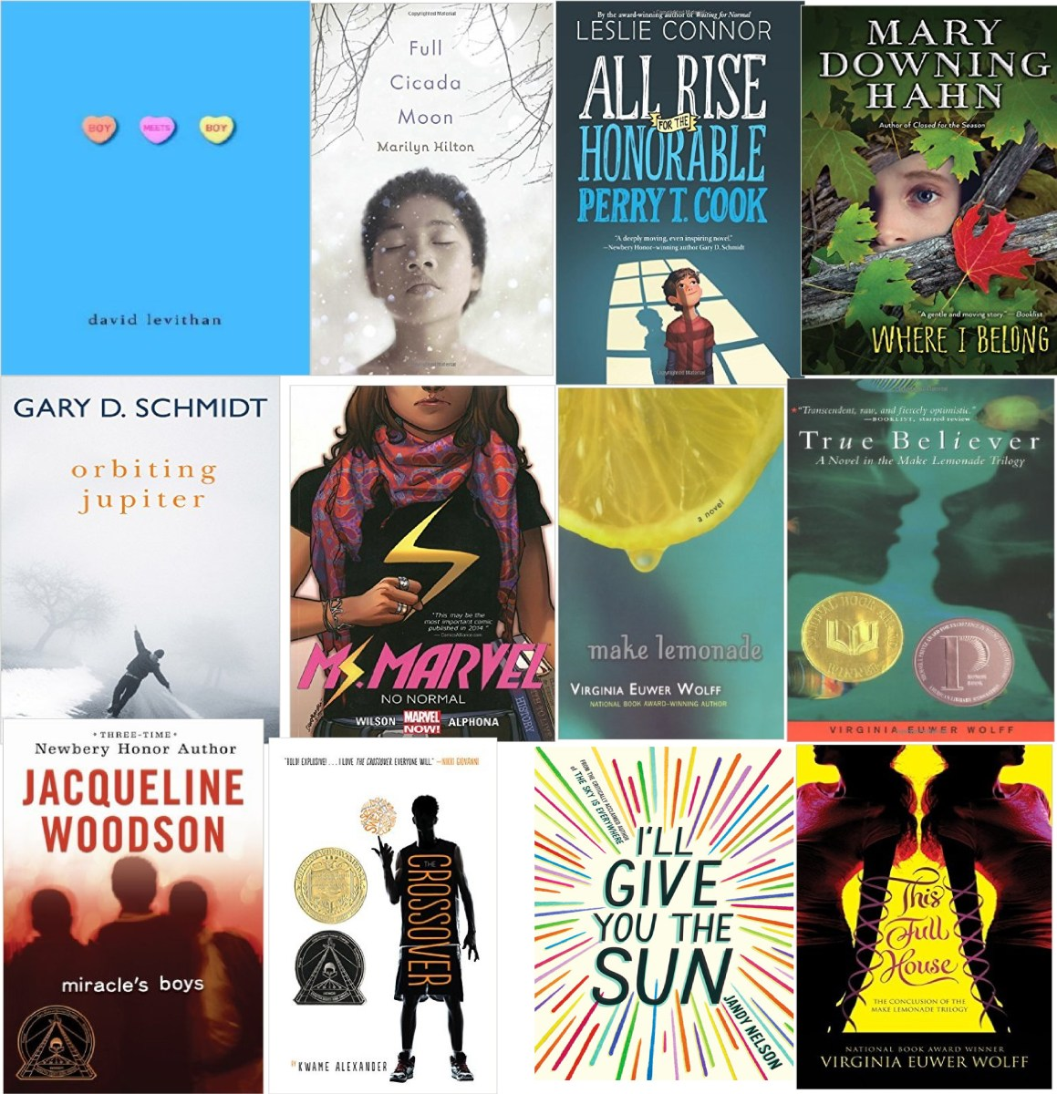 Top Ten Books to Start a Classroom Library (Plus Ten More)