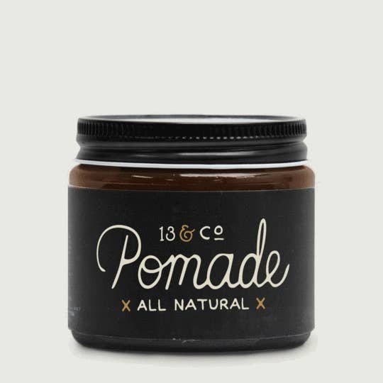 13 & Co's All Natural Pomade is crafted to condition and control your hair