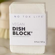 no tox life dishwashing block to wash dishes