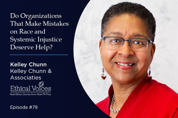 Do Organizations that Make Mistakes on Race and Systemic Injustice Deserve Help? - Kelley Chunn