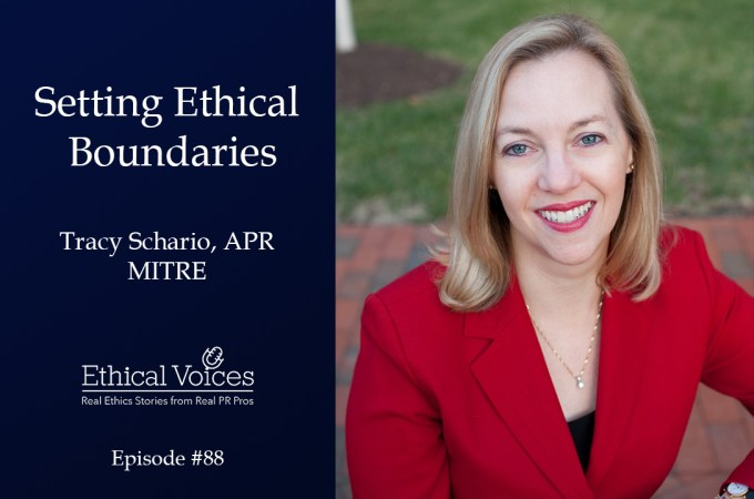 Setting Ethical Boundaries – Tracy Schario