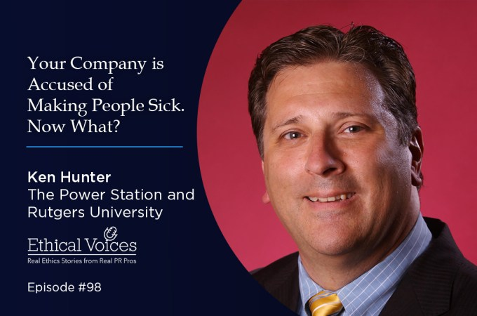 Your Company is Accused of Making People Sick. Now What? – Ken Hunter
