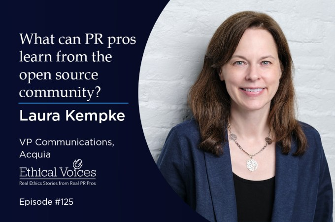 What can PR professionals learn from the open source community? – Laura Kempke