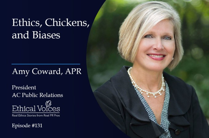 Ethics, Chickens and Biases – Amy Coward