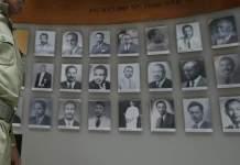"Eshetu Alemu is accused of ordering the execution of 75 people during Ethiopia's ""Red Terror"""