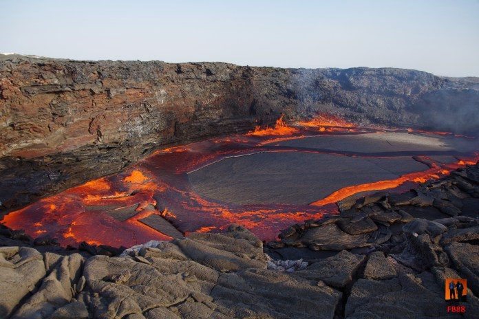 Erta Ale - New Lava Lake (Earth of Fire) - Photo By Francis BALLAND - 18/12/2017