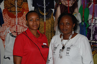 Mrs Elihaika Mrema and her daughter