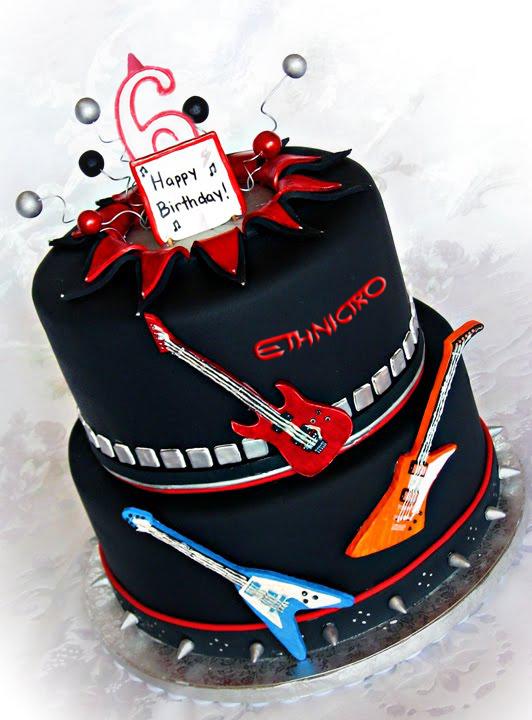 guitar cake ethnictro
