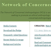 Network of concerned anthropologists