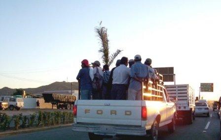 Truck in Zona Residencia