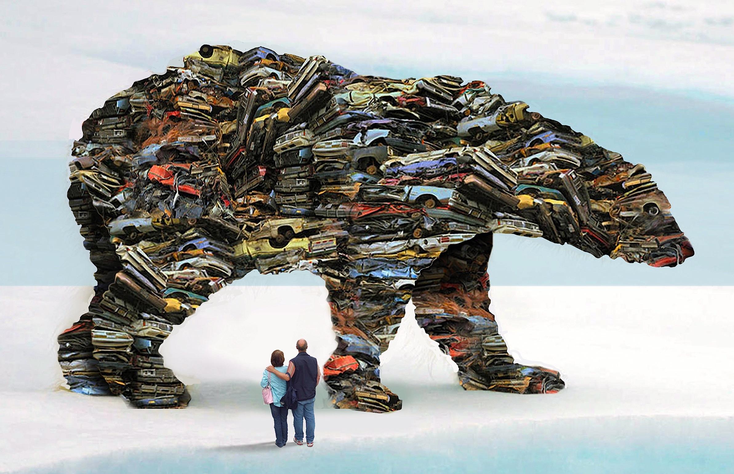 Gigantic rig bears scene 01
