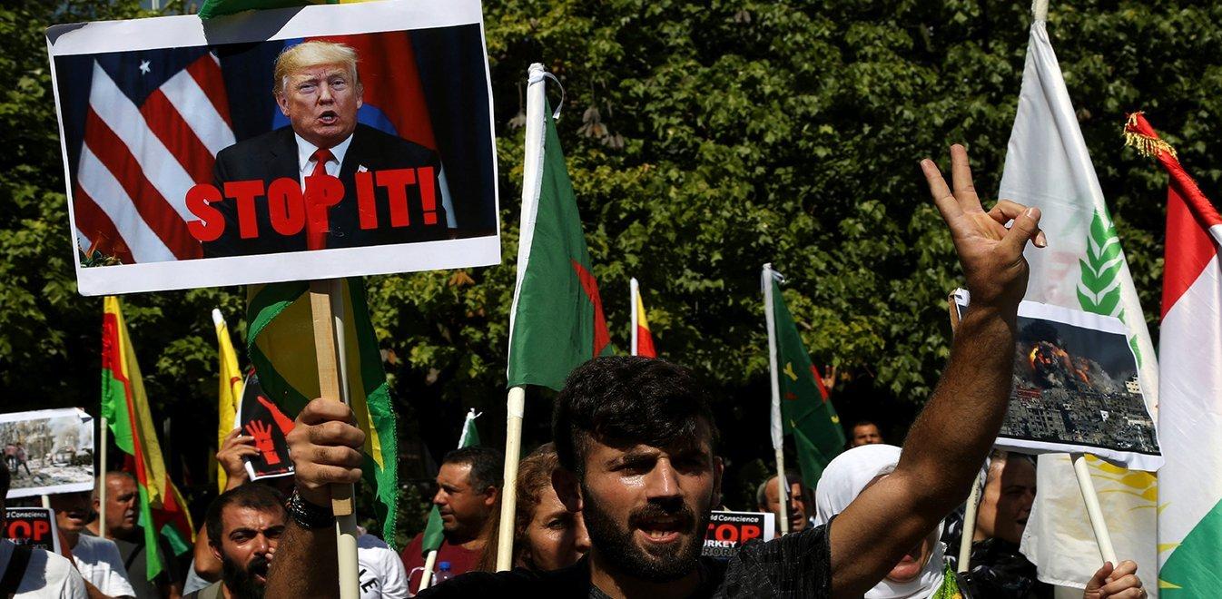 Όχι μόνο ο Ερντογάν, αλλά και ο Τραμπ έχει βάψει τα χέρια του με το αίμα των Κούρδων