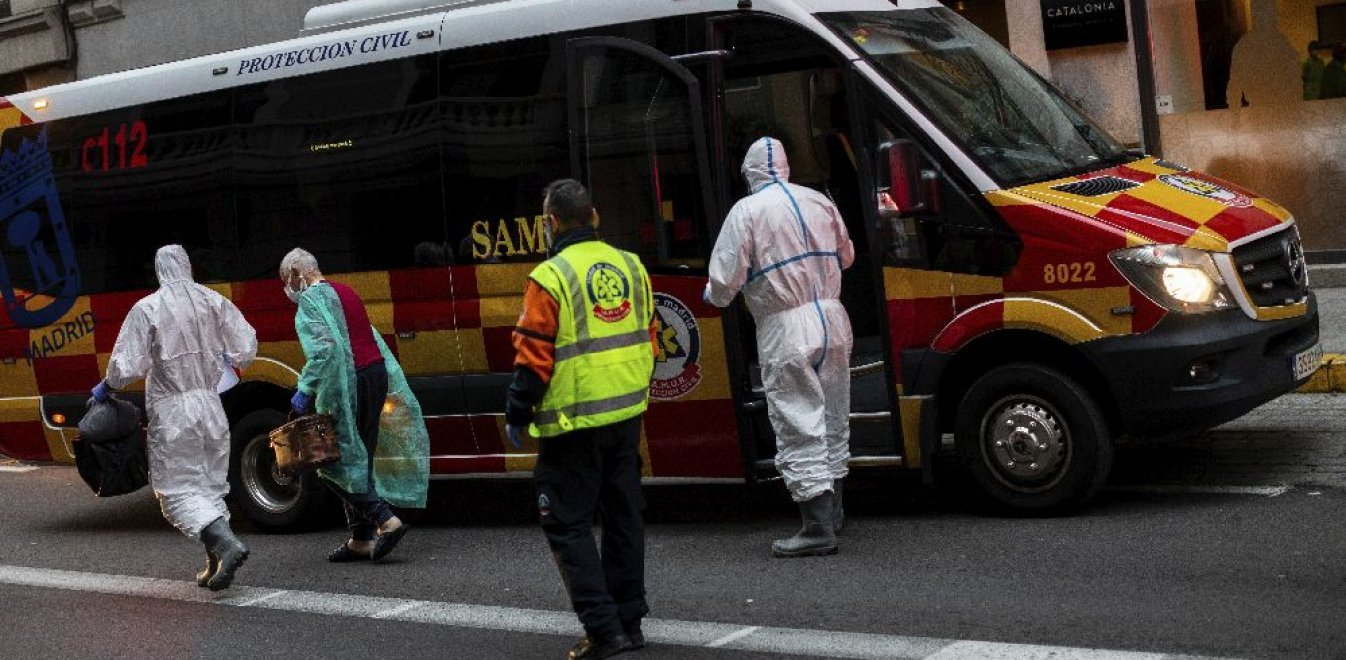 Ισπανία: 738 θάνατοι μέσα σε ένα 24ωρο - Ξεπέρασε την Κίνα σε σύνολο