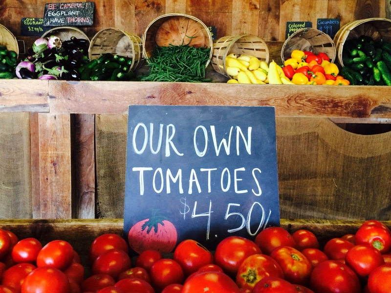 """Our Own Tomatoes"""