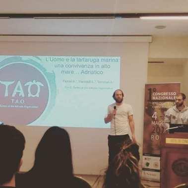 Andrea Ferrari e Luca Marisaldi, TAO Turtle of the Adriatic Organization