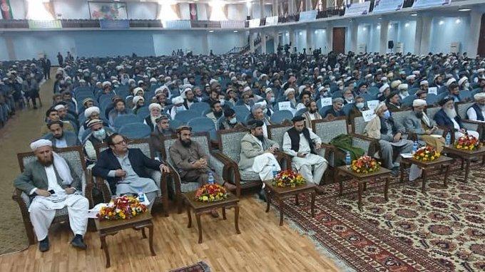 نشست سراسری علما در حمایت از مذاکرات صلح