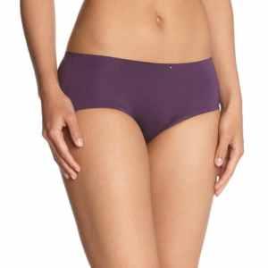 Billet doux – cocooning – shorty – uni – microfibre – femme – violet (figue/capuccino) – 34/36