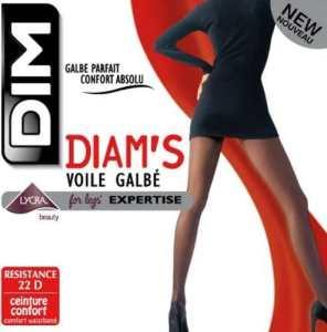 Dim Diam's Voile Galbé – Collants – 22 deniers – Femme – Poivre – 4