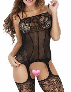 Buauty – Combinaison sexy – Femme – noir – 50