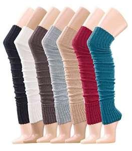 krautwear – Guêtres – Uni – Femme taille unique – rouge – taille unique