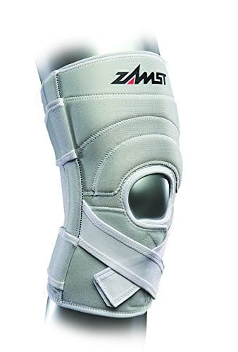 Zamst ZK-7 Chaussettes Mixte Adulte, Blanc, FR : M (Taille Fabricant : M)