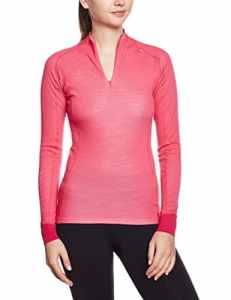 Helly Hansen Warm Freeze 1 Sous vêtement technique Femme – Rouge (Magenta) – FR : XL (Taille Fabricant : XL)