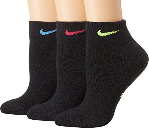 Nike – Everyday – Chaussettes (Lot de 3) – Femme – Noir – 38-42 EU (Taille Fabricant:M)