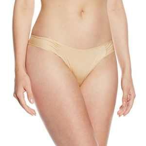 Jolidon Slip brésilien Glossy Diamond Culotte – maternité Femme, Beige (Chair) Medium (Taille Fabricant: M)