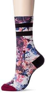 Stance Hayley's Dozen Womens Socks Wine 35-37