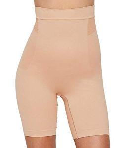 Bali Femme DF0047 Semi-Combinaison Gainante – Beige – Taille L