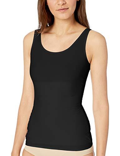 Yummie Femme YT1-219 Haut de sous-vêtement Gainant – Noir – Taille XS