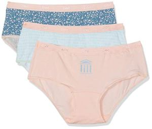 Dim Boxer Les Pockets Coton X3, Multicolore (Lot Olympe 84K), 36 (Taille Fabricant:36/38) 3 Femme