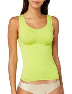 bellycloud Model-up Top Haut Gainants, Vert-Grün (Limone 159), 48 Femme