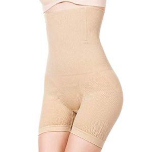 Culotte Femme Sculptante Corset Body Shaper Taille contrôle Ventre Cuisse Ceinture de Bout à Bout Chair Gaine Amincissante Ventre Plat Bustier Taille Haute Invisible