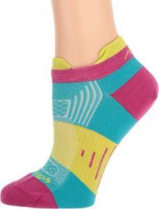 Darn Tough Pulse No Show Tab Light Sock – Women's Teal Small