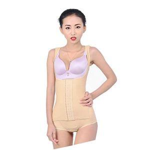 Unbekannt Femmes Body Gainant Amincissant Ventre Plat Shapewear Sculptante Combinaisons Ajustable Les Bretelles Body Shaper,Flesh,XXXL
