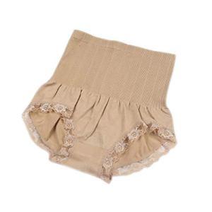 Dovlen Femme Taille Haute Modelant Fin Ventre Plat Sculptant Culotte sous-Vêtements Neuf – Marron, One Size
